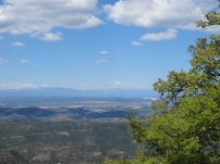 The view from Mount Serrat