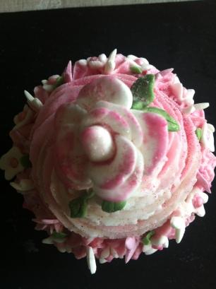 English Rose cupcake
