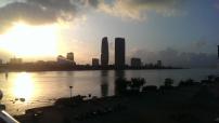 Da Nang at sunset