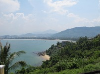 View of Da Nang from the Hai Van pass