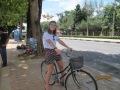 Renting a push bike is definitely the best way to see Kanchanaburi!
