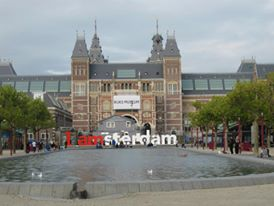 The famous Amsterdam Sign