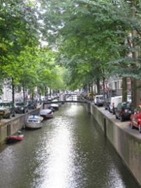 Canals in the summer time
