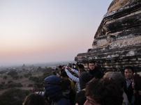 Sunrise over Began - It was a little bit of a bum fight so we advise checking out the less touristic sites
