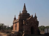 Cruising around Bagan during the day