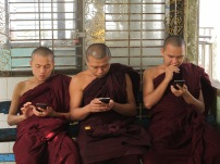 Monks at Mount Popa