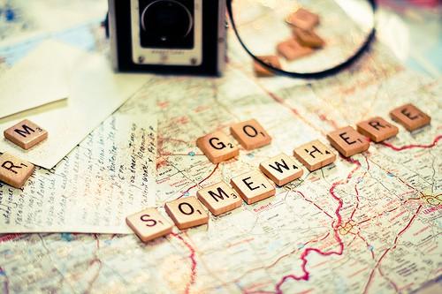 Go somewhere...