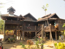 The Shan Village - sensational houses made from Bamboo
