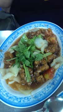 Suon Non Xao Chua Ngot - sweet and sour pork