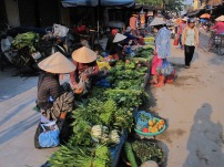 The food market of Hoi An